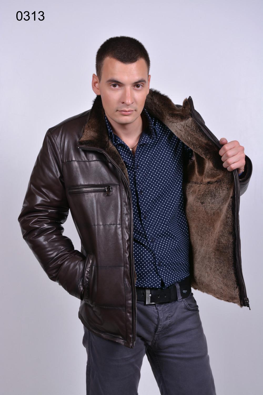 кожаная дубленка, мужская куртка, мужская мода 2016