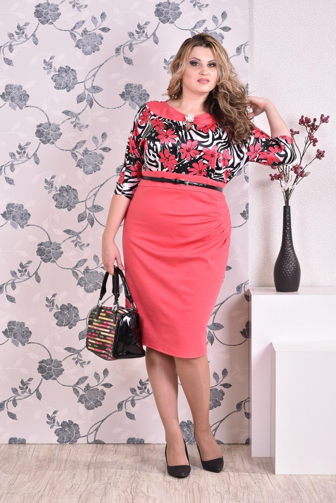 нарядное платье большого размера, женская одежда от производителя, Garry Star, Garrystar